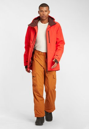 Ski jacket - fiery red