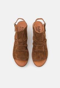 Felmini - MONACO - Platform sandals - brown - 5