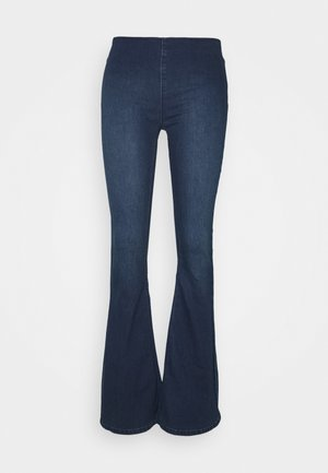 FLARE PENNY PULL ON - Flared jeans - rich blue