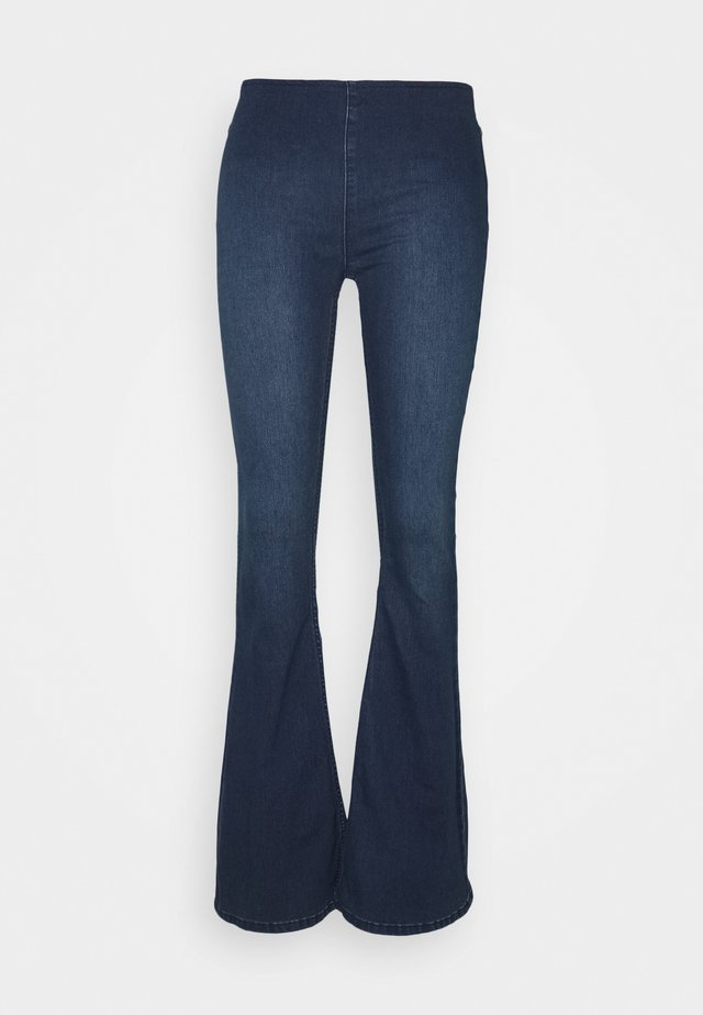 FLARE PENNY PULL ON - Jeansy Dzwony - rich blue