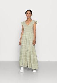 ONLY Petite - ONLMAY LIFE DRESS - Maxi dress - desert sage/cloud dancer - 0