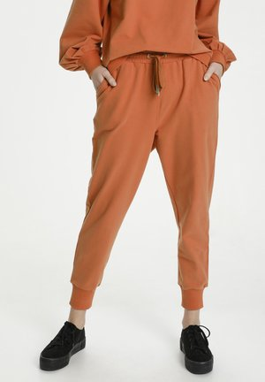 Tracksuit bottoms - ginger