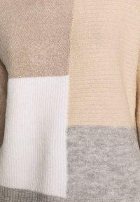 New Look - PATCHWORK JUMPER - Cardigan - cream - 5