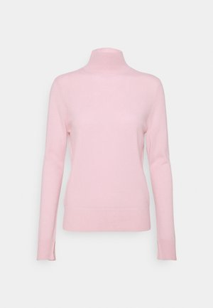 SIMPLE HIGH NECK - Sweter - light pink