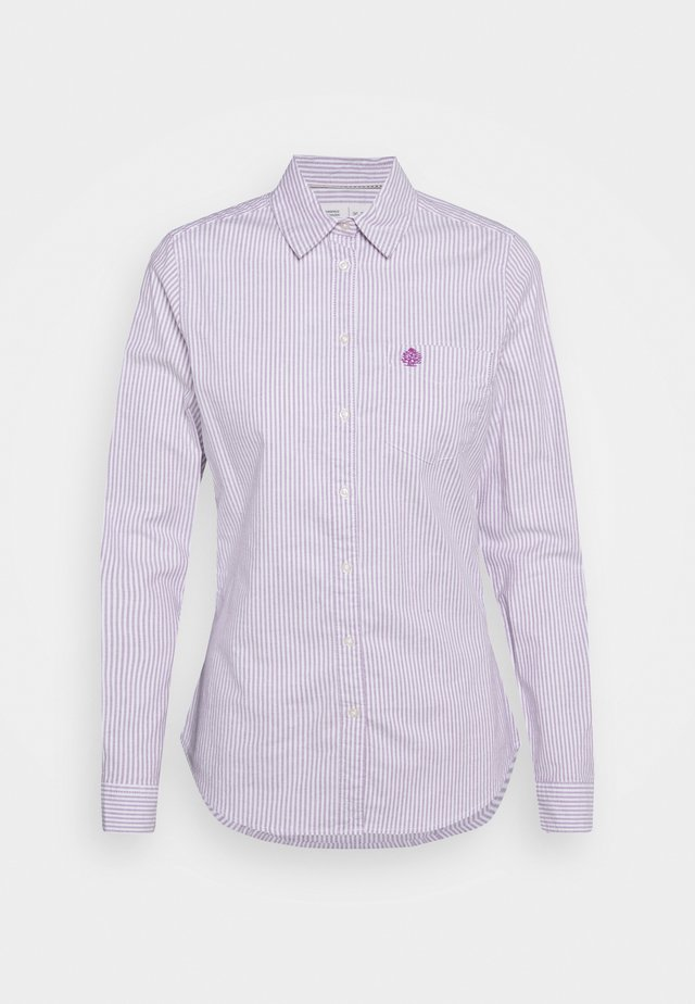 CAMISA OXFORD  - Button-down blouse - purple/lilac