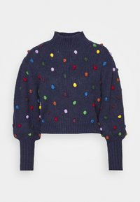 Farm Rio - COLORFUL DOTS  - Jumper - navy - 4