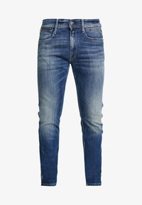 Replay - ANBASS COIN ZIP - Slim fit jeans - medium blue - 3