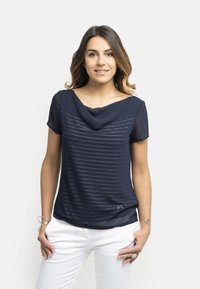NeroGiardini - T-shirt con stampa - blu - 0