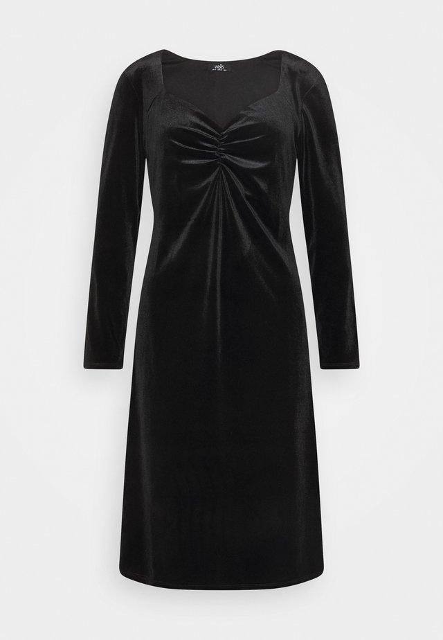 SWEETHEART DRESS - Korte jurk - black