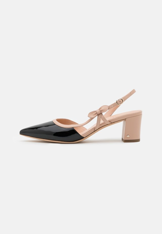 MIDGE BOW 2 - Klassieke pumps - black/pale vellum
