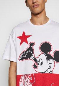 Iceberg - MICKEY MOUSE - T-shirt con stampa - bianco ottico - 4