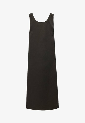 MIT ÜBERKREUZTEM RÜCKENTEIL - Day dress - dark grey