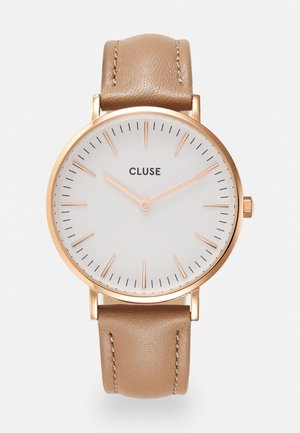 LA BOHEME - Horloge - rose gold-coloured/white/hazelnut
