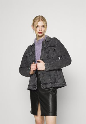 NMOLE  - Chaqueta vaquera - dark grey denim