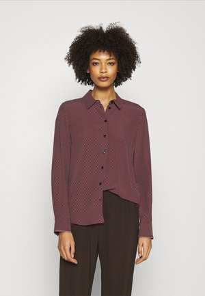 VALESKA RELAXED BLOUSE - Košile - deep rouge
