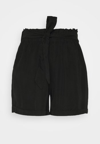 SOFT RELAXED - Shorts - deep black