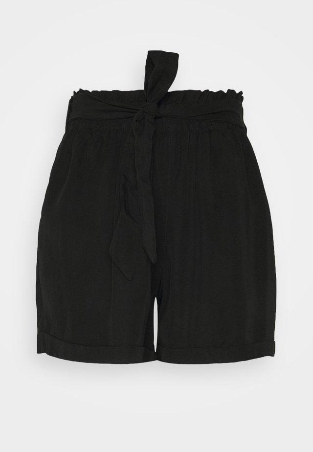 SOFT RELAXED - Shortsit - deep black