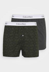 Calvin Klein Underwear - SLIM 2 PACK - Boxer shorts - grey - 0