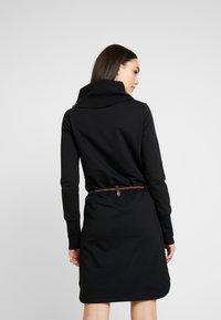 Ragwear - LAURRA - Korte jurk - black - 3