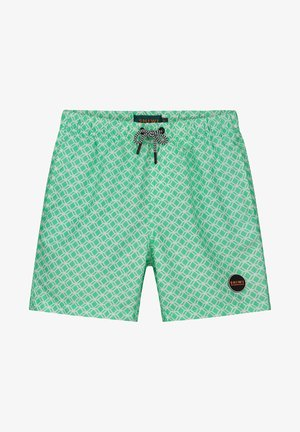 KITE TILE - Swimming shorts - pappagallo