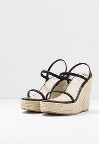 Steve Madden - SKYLIGHT - High heeled sandals - black - 4