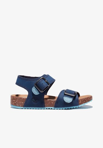 CASTLE ISLAND - Walking sandals - black iris