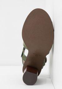 Minelli - High heeled sandals - kaki - 6