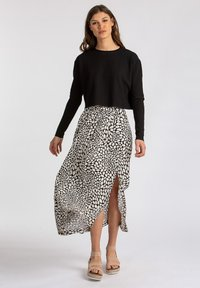 LOVJOI - A-line skirt - black - 1