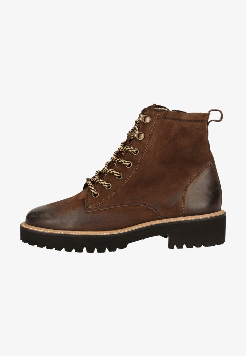 Paul Green - Lace-up ankle boots - dunkelbraun