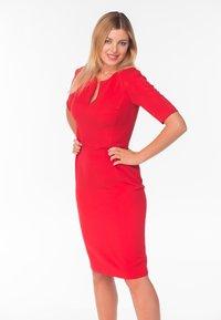 Diyas London - Shift dress - red - 4