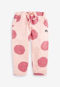 Next - SET BUNNY - Teplákové kalhoty - pink - 3