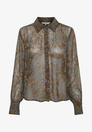 ESMAPW  - Koszula - zig zag print, hazel brown