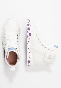 Geox - JR CIAK GIRL FROZEN ELSA & ANNA - High-top trainers - white/mutlicolour - 1
