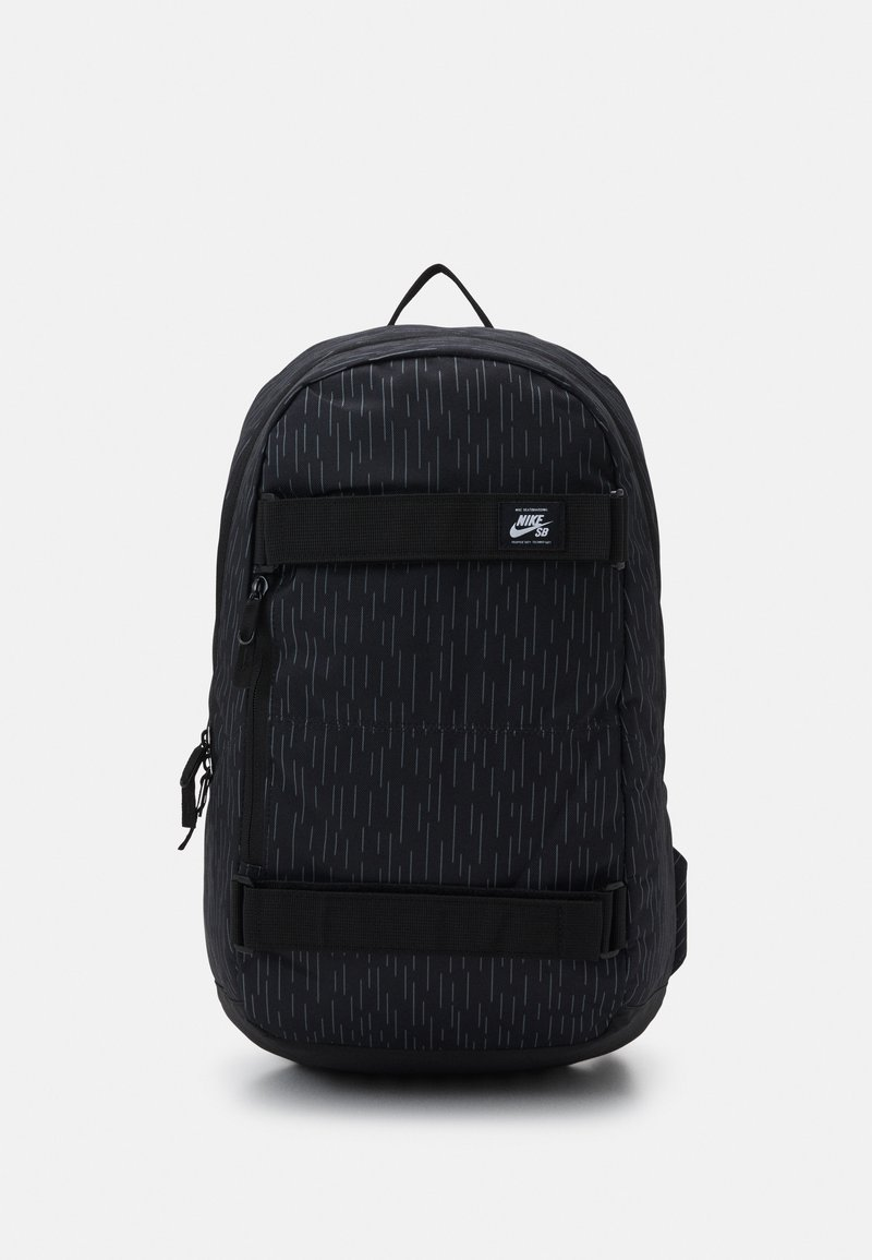 Nike Sportswear - COURTHOUSE - Ryggsäck - black/white