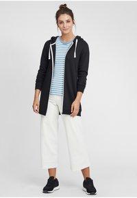 Oxmo - OLINDA - Zip-up hoodie - black - 1