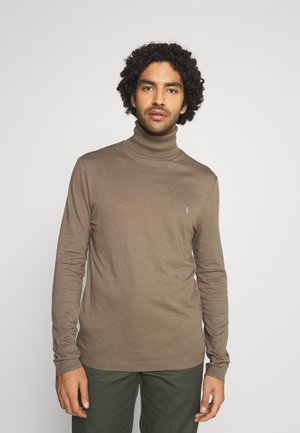 PARLOUR ROLL NECK - Long sleeved top - ensign green