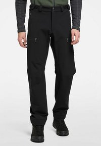 Haglöfs - BRECCIA PANT - Outdoor trousers - true black/magnetite short - 0