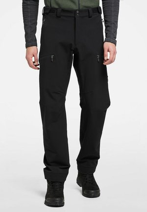BRECCIA PANT - Outdoor trousers - true black/magnetite short