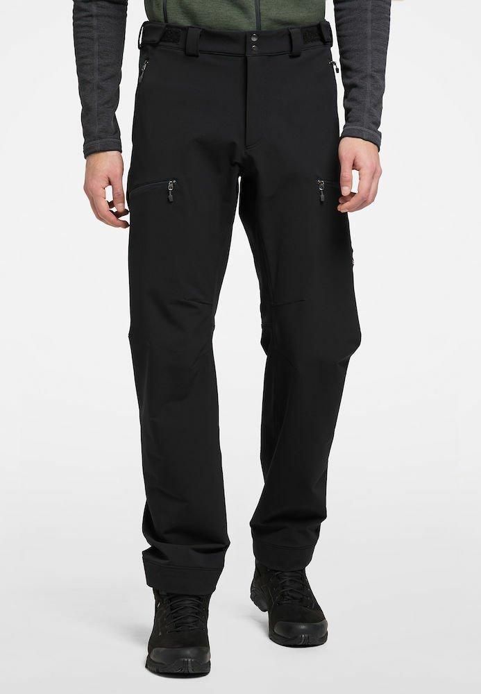 Haglöfs - BRECCIA PANT - Outdoor trousers - true black/magnetite short
