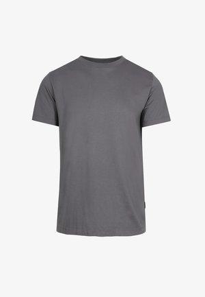 PLAIN TEE - Basic T-shirt - dark grey