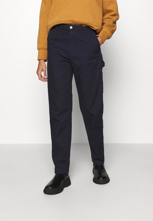 PIERCE - Trousers - dark navy