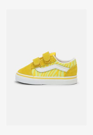 OLD SKOOL UNISEX - Baskets basses - zebra/yellow