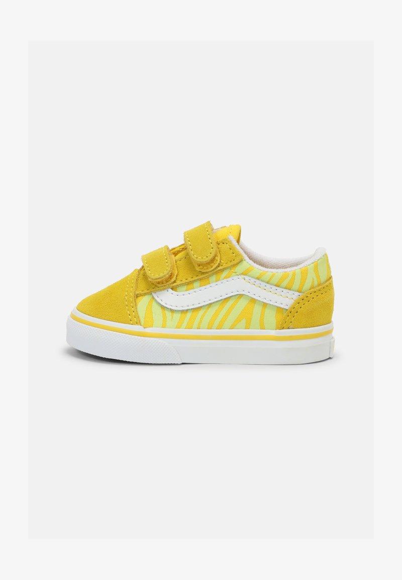 Vans - OLD SKOOL UNISEX - Trainers - zebra/yellow