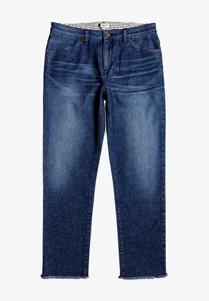 Straight leg jeans - dark indigo