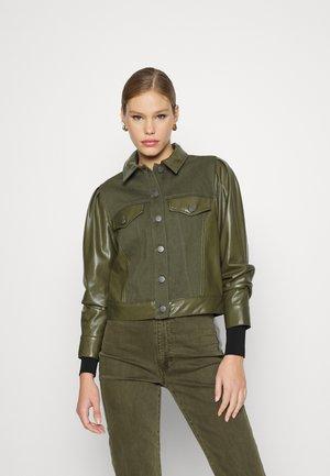RENEE - Denim jacket - olive