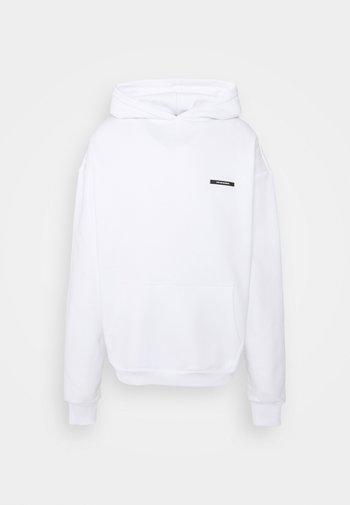 SHANGRI-LA BUTTERFLY HOODIE UNISEX - Sweatshirt - white