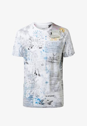 CELSO - Print T-shirt - white