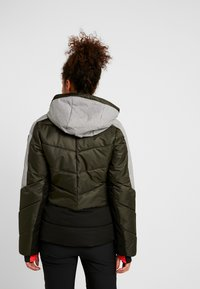 Icepeak - ELECTRA - Snowboard jacket - dark green - 3