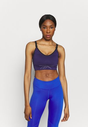 MATERNITY BRA - Medium support sports bra - dark orchid