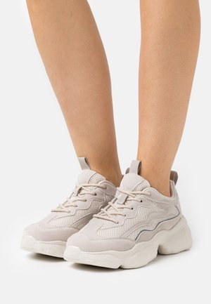 REFLECTIVE DETAILED TRAINERS - Trainers - nude
